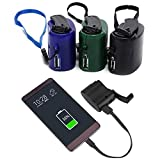 3 Pcs Mini Hand Crank Chargers, Usb Cell Phone Emergency Charger Generators Portable Manual Emergency Power, For Camping Hiking Outdoor Sports Travel Cell Phone Charger Camping Equipment Survival Tool