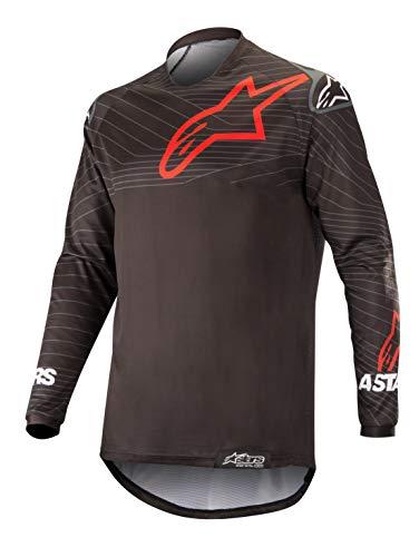 Alpinestars Venture R Offroad Motocross Trikot Herren 3763019-13-M, schwarz/rot, Größe M