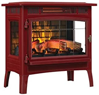Duraflame 3D Infrared Electric Fireplace Stove with Remote Control - DFI-5010 (Cinnamon)