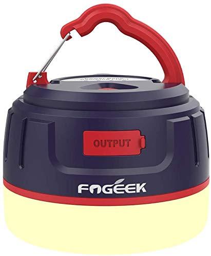 【アップグレード版/更新版】FOGEEK ランタン 暖色 充電式 ledランタン 電球色+昼白色 5200mAhスマホ充電 8...