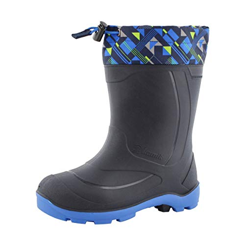 Western Chief Kid's Cold Rated Neoprene Memory Foam Snow Boot, Chloe Dot, 4 M US Big Kid