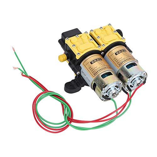 Qiter 【】 Pulverizador eléctrico agrícola de 12 V Bomba de diafragma de...