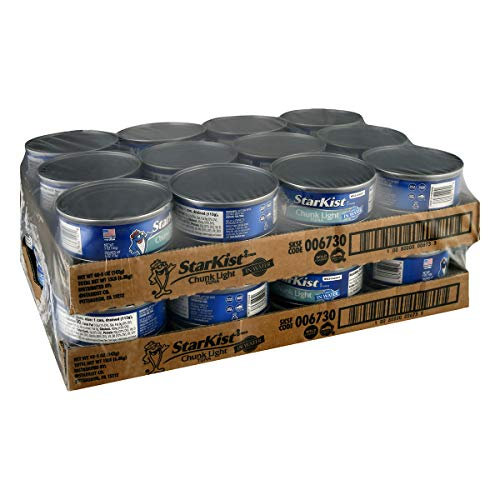 StarKist Chunk Light Tuna in Water, 5 oz. Can, Pack of 48