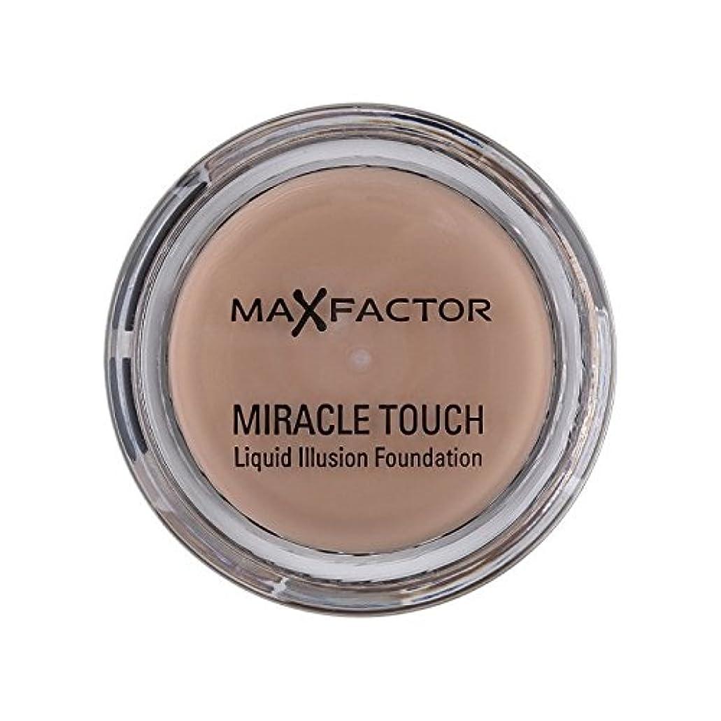 毛布上級アノイMax Factor Miracle Touch Foundation Warm Almond 45 (Pack of 6) - マックスファクター奇跡のタッチ基盤暖かいアーモンド45 x6 [並行輸入品]