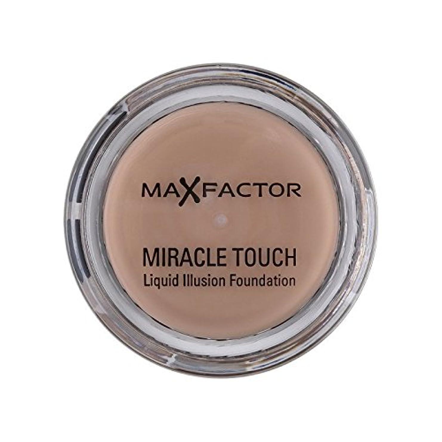 エッセンスギャラントリーミニマックスファクター奇跡のタッチ基盤暖かいアーモンド45 x2 - Max Factor Miracle Touch Foundation Warm Almond 45 (Pack of 2) [並行輸入品]