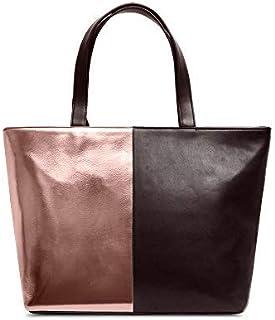 DailyObjects Women's Tote Bag (ROSE-GLD-MATL-FAUX-FAT-TOT-BAG_Multicolored)