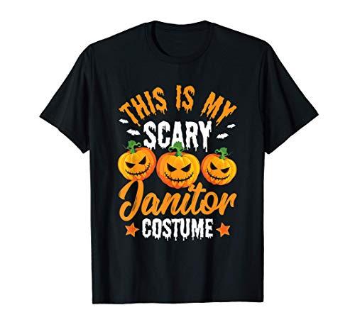 Este es mi espantoso disfraz de conserje calabaza de Camiseta