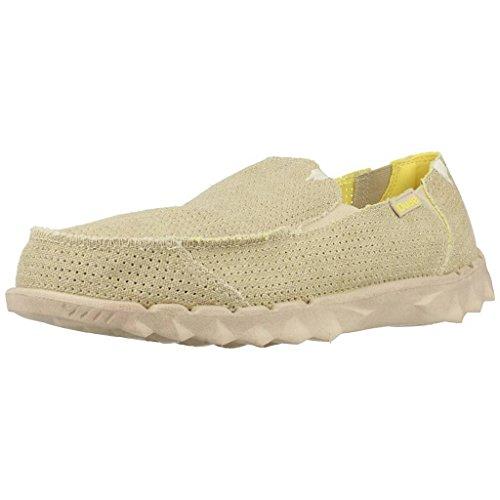Dude Shoes Farty Post Sports perforiert beige, Beige - beige - Größe: 46 EU