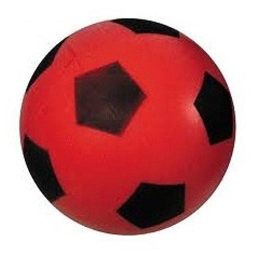 Lively Moments Bola de Espuma / Bola Blanda / Fútbol Aprox. 20 cm Balón en Rojo