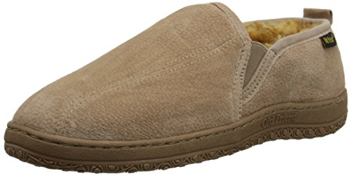 Old Friend Men's Romeo Slipper, Chestnut Stony, 11 M US