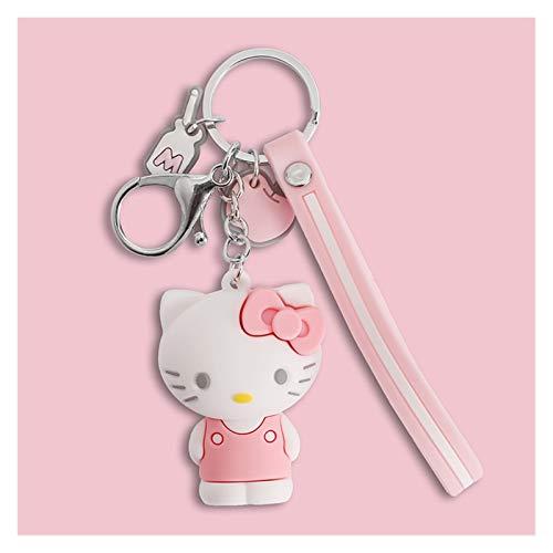 Xiniufsd Schlüsselbund Niedliche Cartoon-Kätzchen Frosch Puppe Schlüsselanhänger Paar Custom Car Schlüsselanhänger Kreative kleines Geschenk (Color : 3)