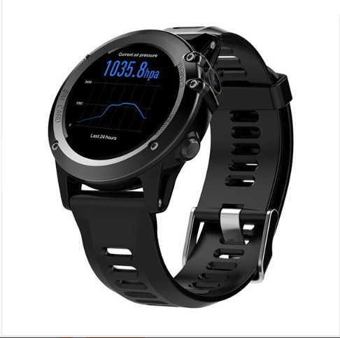 Microwear H1 1.39inch Super AMOLED 4GB GPS 3G WiFi Camera IP68 Heart Rate Monitor Smart Watch