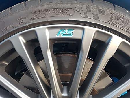 Jackplott Focus Rs Mk3 Gel Embleme Inlays Felgen Logos Blau Auto