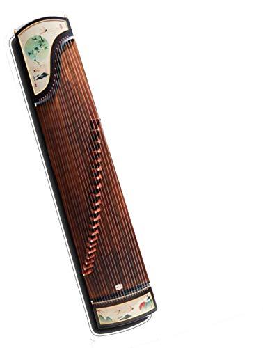 N /A Guzheng, Chinesisch Musikinstrument, Größe: 163cm, 125cm, 100cm, 21 Streicher, Geeignet for Anfänger, Profis, Kinder, Erwachsene, Einleitende Praxis, mit einem kompletten Satz von Zubehör