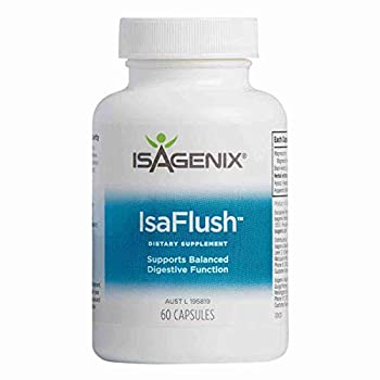 Isagenix Isaflush 60 Capsules- Cleansing Herbs and Minerals to aid in Digestive Regularity