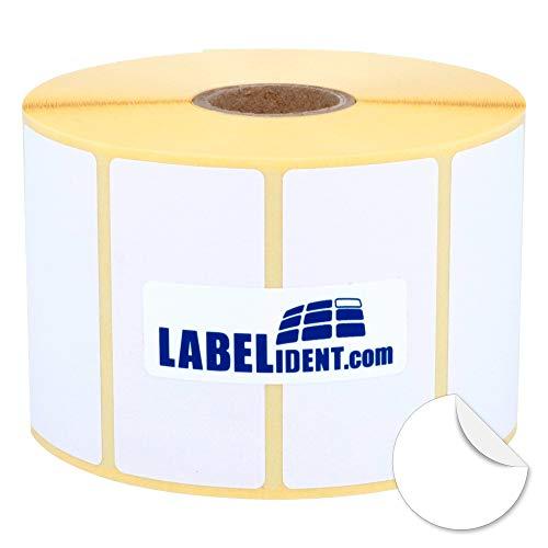 WIEDER ABL/ÖSBAR Druckverfahren: Thermodirekt Thermo Etiketten auf Rolle 1.100 St/ück je Rolle Drucken ohne Farbband aussen gewickelt Kern: 25 mm 102 x 64 mm