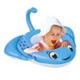 Baby Inflatable Swimming Pool Float, 26.5'x30' Infant Swimming Ring Floats with Safety Seat, Baby Swimming Tube Inflatable Baby Pool Float Ring Newest, Swim Training for Baby of 5-12 Months