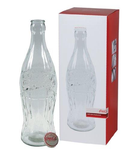 Coca-Cola Giant 20 Glass Botella Money Bank con Metal Cap