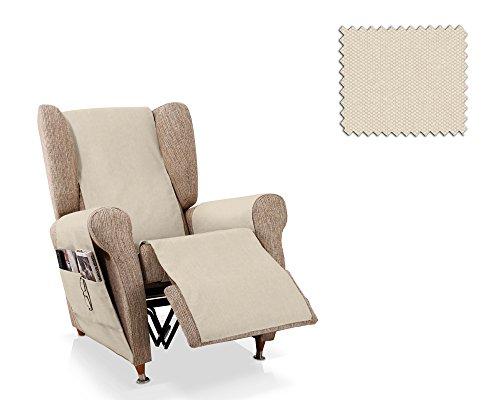 JM Textil Salva Poltrona reclinabile Mowin Dimensione 1 Posto (55 Cm.), Colore 11 (Vari Colori Disponibili)
