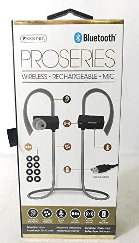 Sentry Pro Series Wireless Earbuds (Black/Grey)