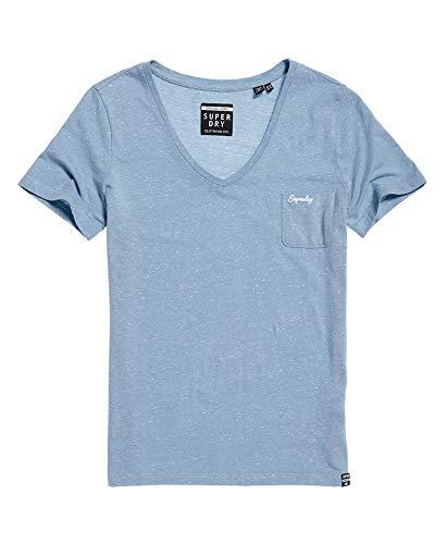 Superdry Orange Label Ess Vneck Tee-Shirt Femmes