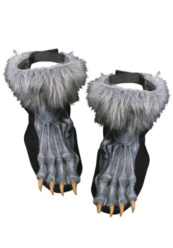Werewolf Shoe Covers Costume Accessory