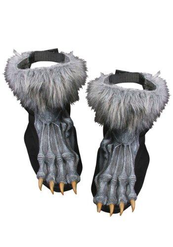wolf feet costume - 1