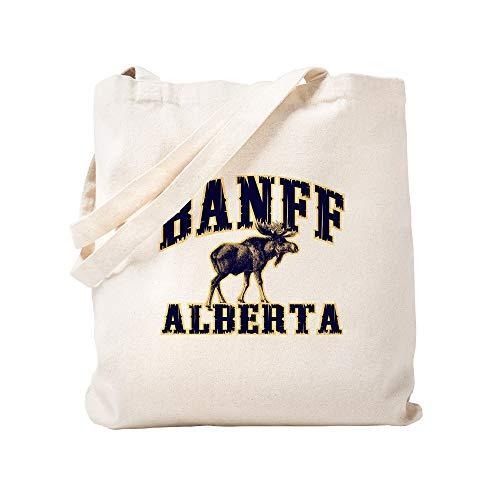 CafePress Banff Elch Naturleinen-Einkaufstasche aus Stoff