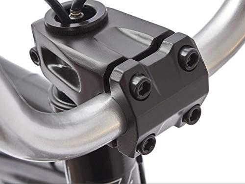 KHE BMX Fahrrad Arsenic CS 18 Zoll schwarz Affix 360° Rotor nur 10,1kg - 5