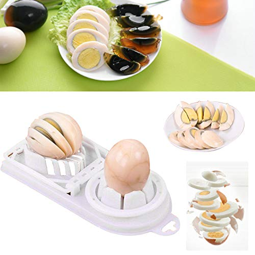 VESSOS Home Boiled Egg Slicer Cutter Mushroom Tomato Kitchen Chopper Supply Gadget Separator Best DIY Tools for Home