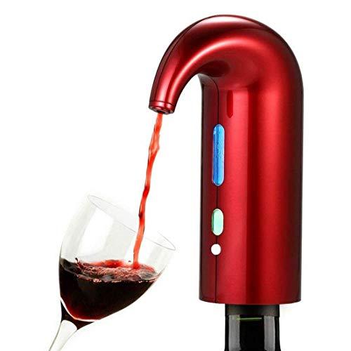 Aireador de vino eléctrico, decantador de vino inteligente, bomba dispensadora de vino, vertedor de vino, máquina de grifo de botella de vino portátil y automática, para bodas, fiestas, aniversarios