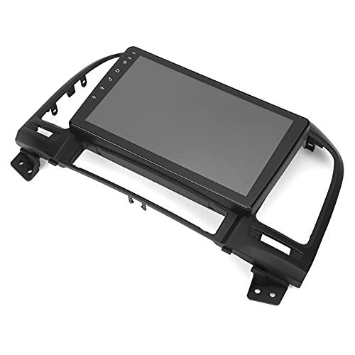 Car MP5 Player 9in Car Bluetooth MP5 Player 2 + 32GB Radio Multimedia Navigation Systerm para Android Apto para HYUNDAI SANTA 2006-2012