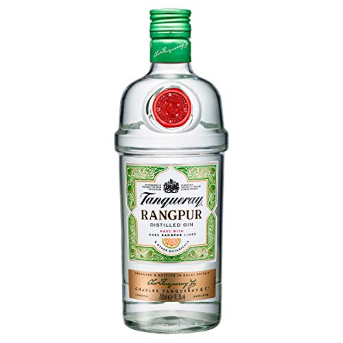 Tanqueray Rangpur Distilled Gin - Made with rare rangpur limes for a burst of citrus zest - 70cl