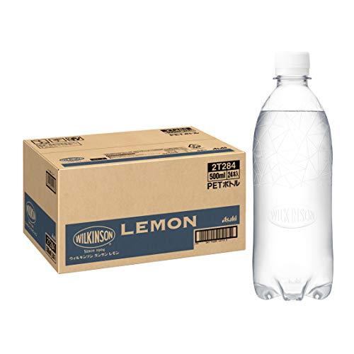 MS+B 「ウィルキンソン タンサン」 レモン ラベルレスボトル 500ml×24本 [Amazon限定ブランド]
