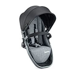 "No need to buy a new stroller, just add this Second Seat to make your Qool a double Supports up to 55 lbs and includes UPF 50 Canopy. From the seat to the canopy measures 20"". Requires Front Adapters (sold separately). This seat is not suitable for c..."