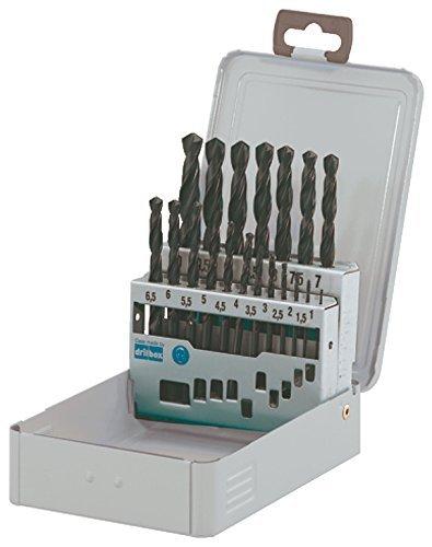 Bohrer-Set 19Stück R nach DIN 3381–10mm, in 0,5mm Schritte Qualität deutscher Tools