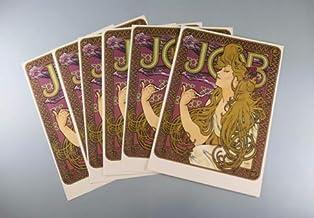 BiblioArt Post Card Series 【特価】シャドーボックスセット 「ミュシャのJOB」A5サイズ