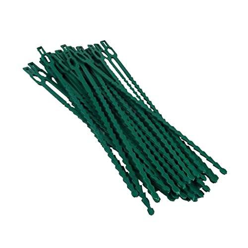 D DOLITY Fil d'attache de Plante Ligatures Cravate Plante de Jardin Câble Arbre d'escalade - 23cm