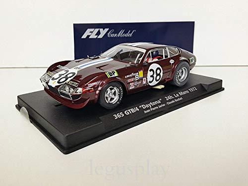 FLy Slot SCX Scalextric 88111 / A-654 Compatible Ferrari 365 GTB/4 Daytona Le Mans '72