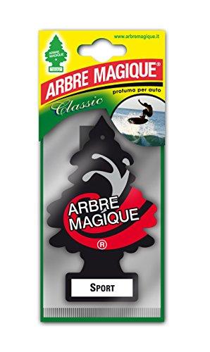Tavola 3334014 Arbre Magique Deodoranti per Auto, Sport, Nero/Bianco/Rosso