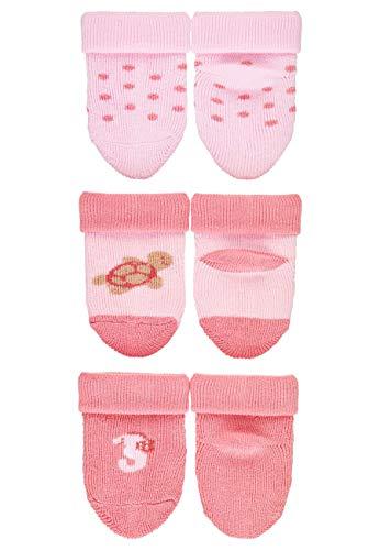 Sterntaler Mädchen Erstlingssöckchen, Schildkröten-Motiv, Alter: 0-4 Monate, Größe: 0, Rosa