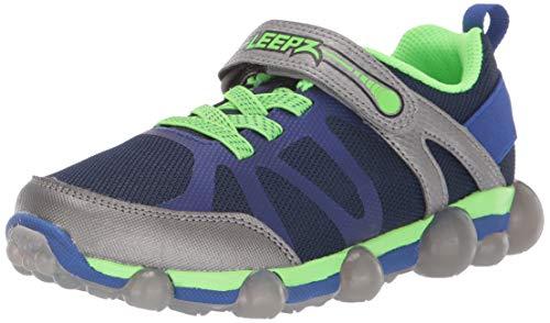 Stride Rite Boys' Leepz 3.0 Sneaker, Blue, 1.5 W US Little Kid