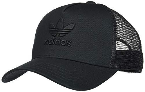 adidas Herren Kappe Aframe Trefoil Trucker, Black/Black, OSFM, DV0170