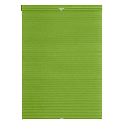 Lichtblick TPK.100.130.25 Plissee Klemmfix, Thermo, ohne Bohren - Grün 100 cm x 130 cm (B x L)