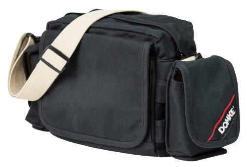 Domke Resistente Wear Crosstown Courier Bolsa de Hombro para DSLR/cámara CSC - Negro/Arena
