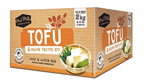 Prepara del delizioso Tofu e Vegan Tratta in casa! Questo kit ti permettera di produrre fino a 2 kg di tofu. Il kit tofu comprende: Tofu Stampo, 1,5 L di Cottura in Acciaio Ciotola, Panno di Mussola, Coagulante (ogm Free), Termometro, Manuale di istr...