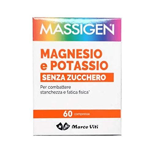 Massigen Magnesio Potassio Senza Zucchero 60 cpr
