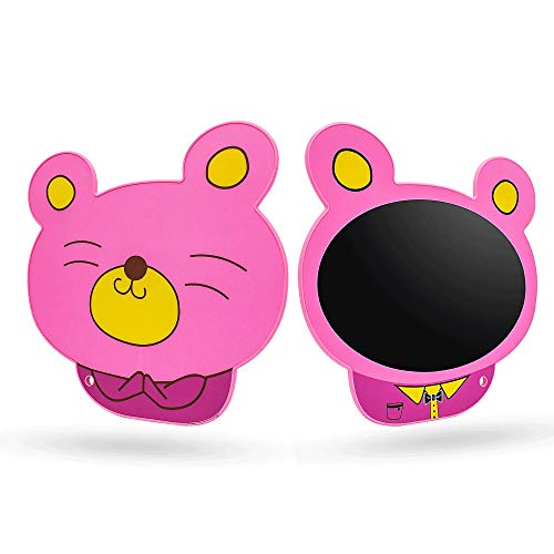 WMKEDB Drawing Tablet for Kids, 8.5 Inch Lcd Handwriting Board Children Drawing Board Toy Birthday Gift Cartoon Bear Version,Scribble WritingTablet (Color : Pink)
