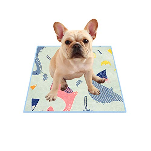 MONISE Non-Slip Pee Pads for Dogs Waterproof & Extra Absorbent Non-Slip Puppy Piddle Pads Pet Training Washable Puppy Pads (38-87cm)