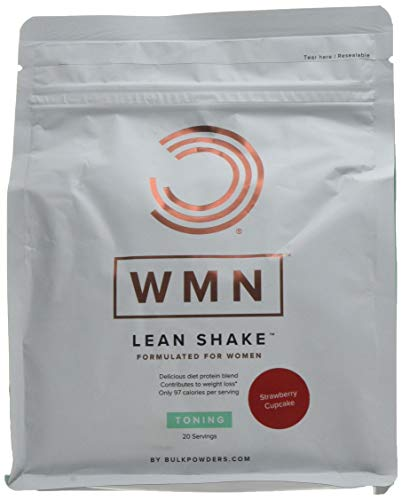 Bulk WMN Lean Shake Strawberry Cupcake 500 g, Packaging May Vary
